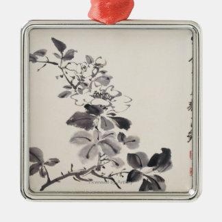In Imitation of Xu Wei�s Flowers No.5 Metal Ornament