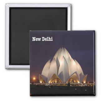 IN - India - New Delhi - Lotus Temple Magnet