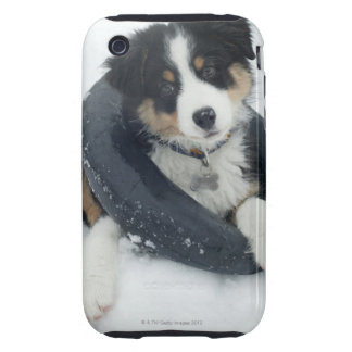 in inner tube in the snow tough iPhone 3 case