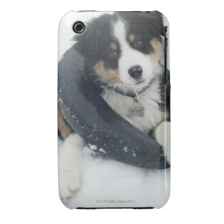 in inner tube in the snow Case-Mate iPhone 3 cases