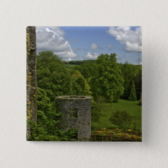 In Ireland, at Blarney Castle a stone tower in Button