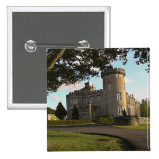 In Ireland the Dromoland Castle side entrance Pinback Button