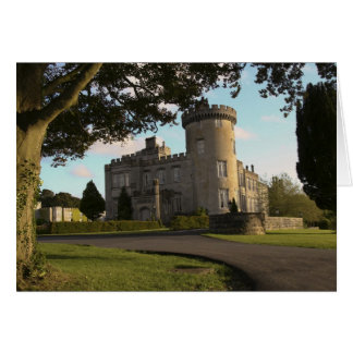 In Ireland, the Dromoland Castle side entrance Greeting Card