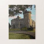 "In Ireland, the Dromoland Castle side entrance Jigsaw Puzzle<br><div class=""desc"">In Ireland,  the Dromoland Castle side entrance and turret � Marilyn Parver / DanitaDelimont.com</div>"