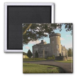 In Ireland, the Dromoland Castle side entrance Refrigerator Magnets