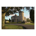 Dromoland Castle side entrance, wall print