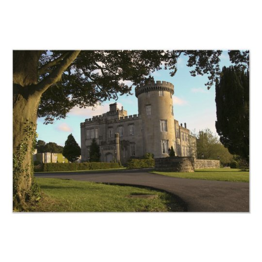 In Ireland, the Dromoland Castle side entrance Photo Print