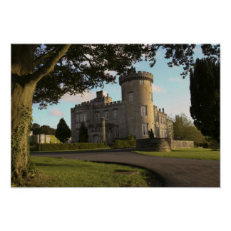 In Ireland, the Dromoland Castle side entrance Poster