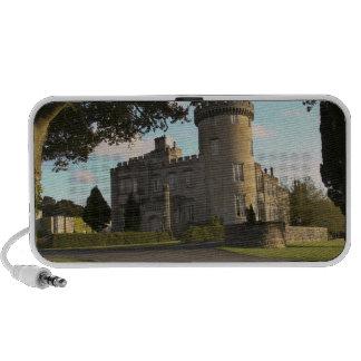 In Ireland, the Dromoland Castle side entrance Speaker