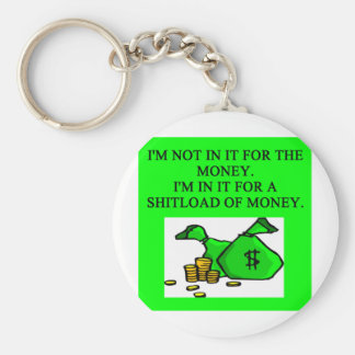in it for the money key chain