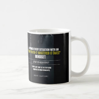 In It To Win It Mindset - Workout Motivational Classic White Coffee Mug