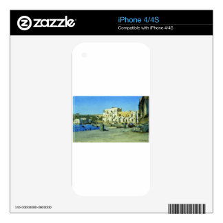 In Italy by Volodymyr Orlovsky Decal For iPhone 4