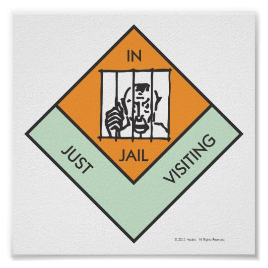 In Jail/ Just Visiting Poster