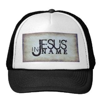 In Jesus name Trucker Hat