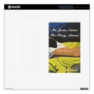 In Jesus Name We Pray, Amen Amazon Kindle Cover Kindle Fire Skin