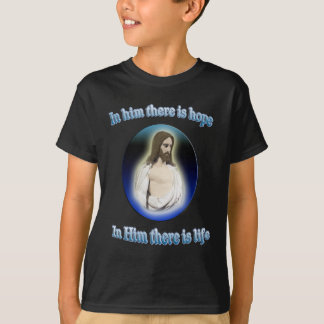 in jesus there is life gifts T-Shirt