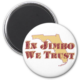 IN JIMBO WE TRUST REFRIGERATOR MAGNETS