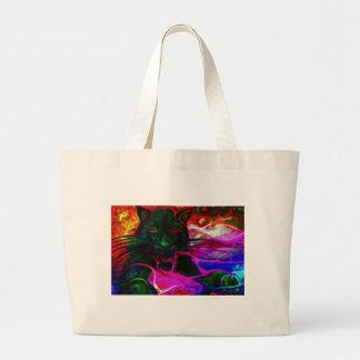in kitty dreams.jpg large tote bag
