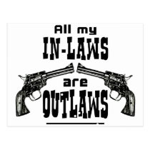 In-Laws & Outlaws Postcard