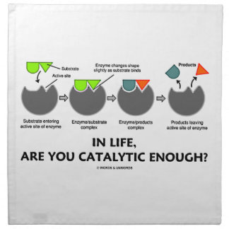 In Life, Are You Catalytic Enough? Napkin