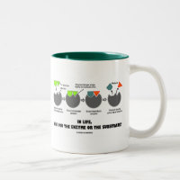 In Life, Are You The Enzyme Or The Substrate? Two-Tone Coffee Mug