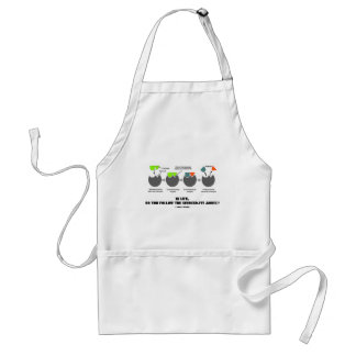 In Life, Do You Follow The Induced-Fit Model? Adult Apron