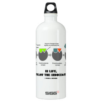 In Life, Do You Follow The Induced-Fit Model? SIGG Traveler 1.0L Water Bottle