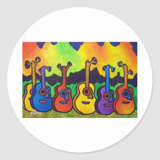 In Life I sing by piliero Classic Round Sticker