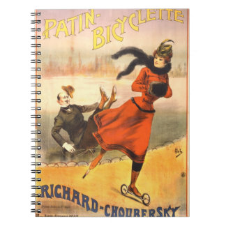 In-Line Skates 1890 Notebook