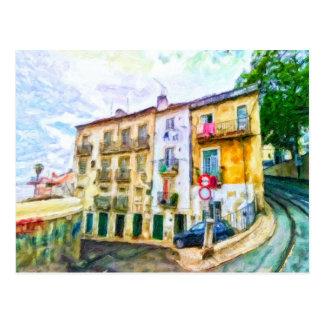 In Lisbon Portugal by Shawna Mac Postcard