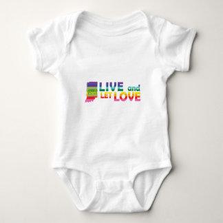 IN Live Let Love Baby Bodysuit