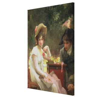 In Love, 1907 Canvas Print