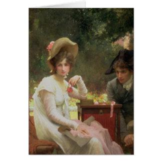 In Love, 1907 Card
