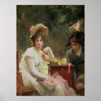 In Love, 1907 Poster