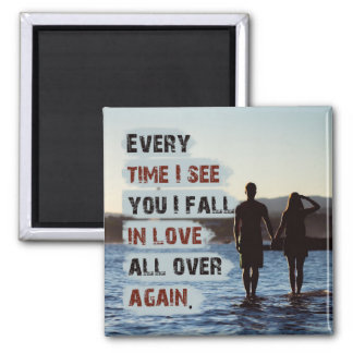 In Love All Over Again Magnet