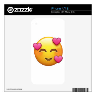 In love emoji skin for the iPhone 4S