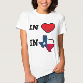 In Love In Texas T-shirt