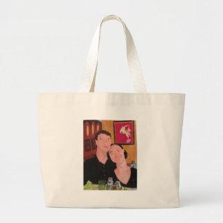 In Love Large Tote Bag