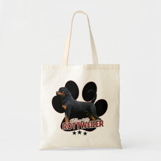 In Love My Rottweiler bag