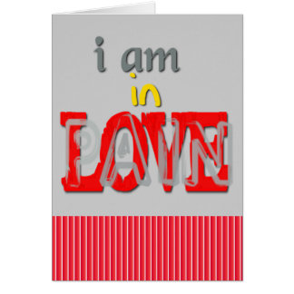 In Love Pain Card