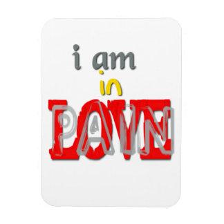 In Love Pain Flexible Magnet