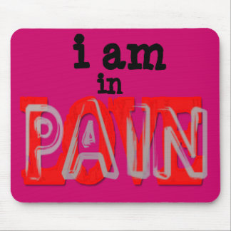 In Love Pain Mousepad