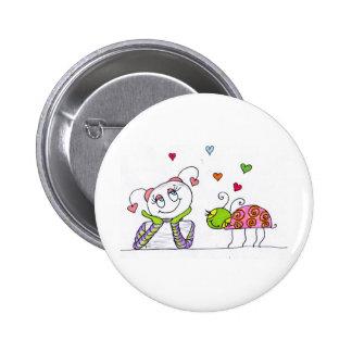 In Love Pinback Button