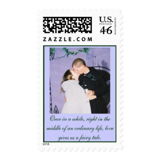 In Love Postage Stamp