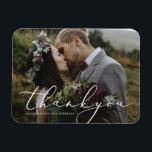"In Love Thank You Magnet<br><div class=""desc"">Gift your guests with a Save the Date Magnet to showcase on the refrigerator leading up to your big day!  
