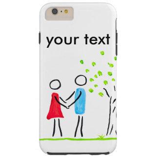 in Love Tough iPhone 6 Plus Case