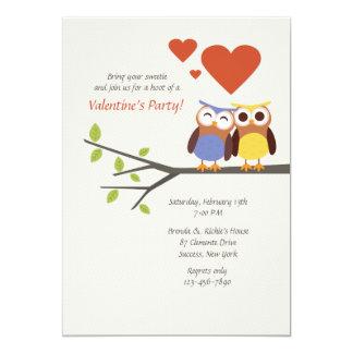 In Love Valentine's Party Invitation