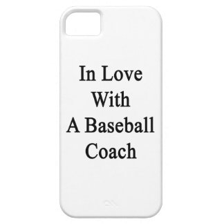 In Love With A Baseball Coach iPhone 5 Covers