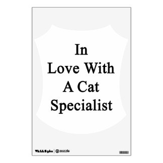 In Love With A Cat Specialist Room Graphic
