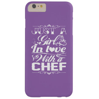 In love with a Chef Barely There iPhone 6 Plus Case